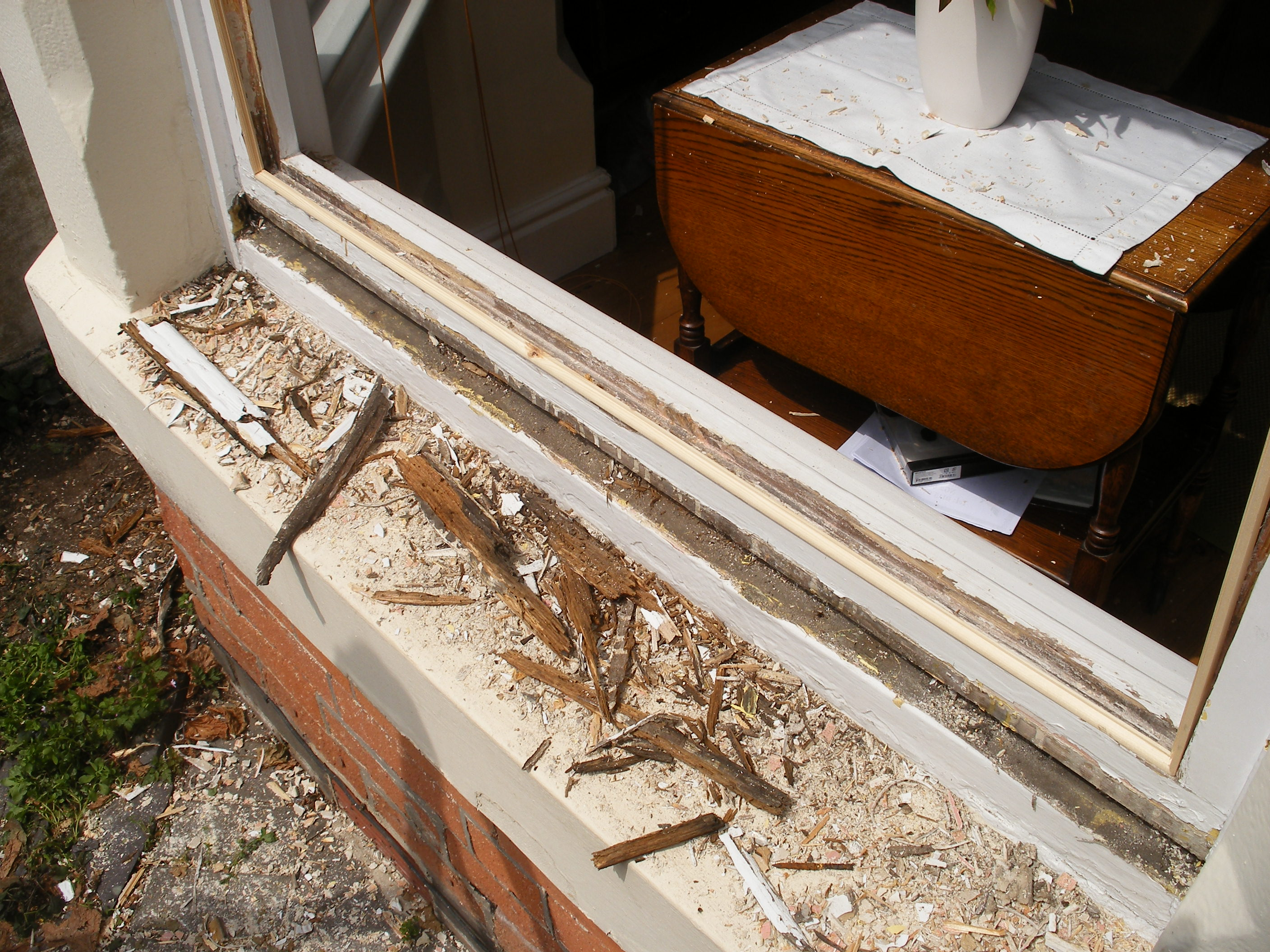 Is Your Sill Rotting?